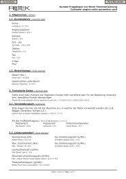 Kunden Fragebogen zur Motor Parametrisierung Customer ... - Rotek