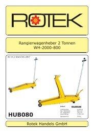 HUB080 - Rotek