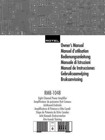 RMB-1048 - Rotel