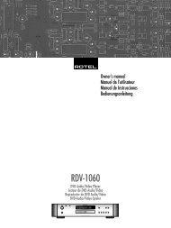RDV-1060 - Rotel