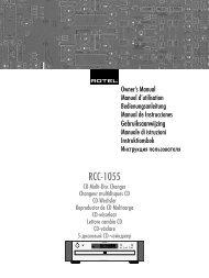 RCC-1055 - Rotel