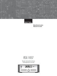 RSX-1057 - Rotel