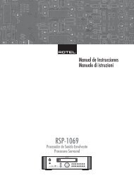 RSP-1069 - Rotel