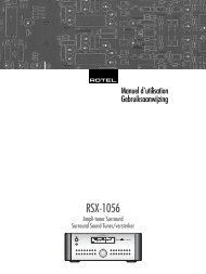 RSX-1056 - Rotel
