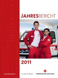 Jahresbericht 2011 - Österreichisches Rotes Kreuz