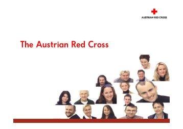 The Austrian Red Cross - Österreichisches Rotes Kreuz