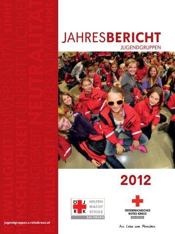 Jahresbericht 2012 der Jugendgruppen Salzburg - Österreichisches ...
