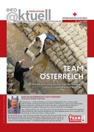 Info aktuell Spezial 3/2007 (PDF) - Österreichisches Rotes Kreuz