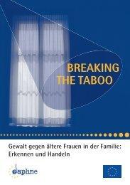 BREAKING THE TABOO - Österreichisches Rotes Kreuz
