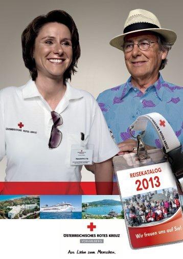 Reisekatalog - Österreichisches Rotes Kreuz