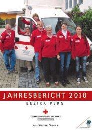JAHRESBERICHT 2010 - Österreichisches Rotes Kreuz