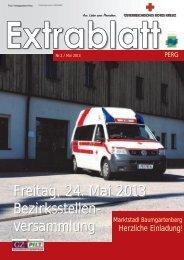 Freitag, 24. Mai 2013 Bezirksstellen - Österreichisches Rotes Kreuz