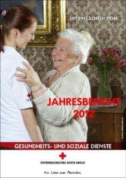 Jahresbericht GSD 2012 - Österreichisches Rotes Kreuz