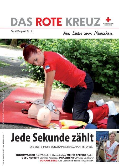 Jede Sekunde zählt - Österreichisches Rotes Kreuz