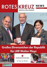 RK-News Nr. 21, Dezember 2013 - Österreichisches Rotes Kreuz