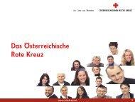 Österreichisches Rotes Kreuz. Das Ganze ist mehr als die Summe ...