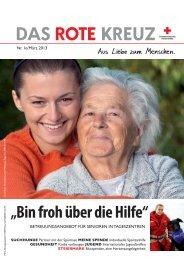 Die Rotkreuz-Zeitung - Österreichisches Rotes Kreuz