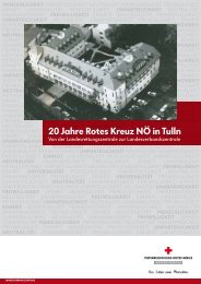 Festschrift zur 20 Jahr-Feier der Landesverbandszentrale in Tulln