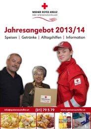 Speisekarte als PDF laden - Österreichisches Rotes Kreuz