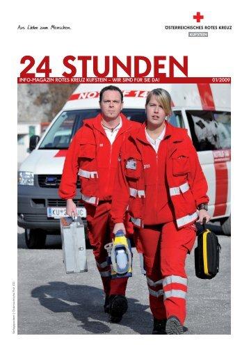 info-magazin rotes kreuz kufstein – wir sind für sie da! 01/2009