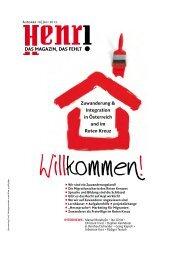 Henri. Das Magazin, das fehlt. - Österreichisches Rotes Kreuz