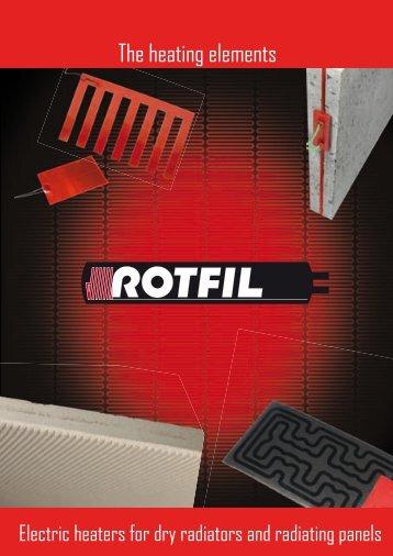 Heaters for dry radiators - Rotfil