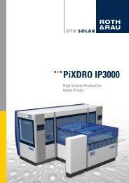 PiXDRO IP3000 - Roth & Rau AG