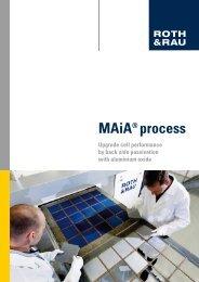MAiA Process_screen_2 - Roth & Rau AG