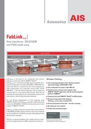 FabLink PLC -flyer. - Roth & Rau AG