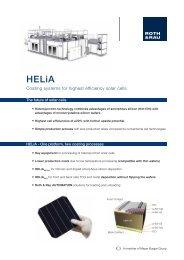 FactSheet HELiA - Roth & Rau AG