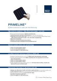 PRiMELiNE® - Roth & Rau AG