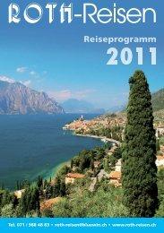 Reiseprogramm 11.indd - Roth-Reisen