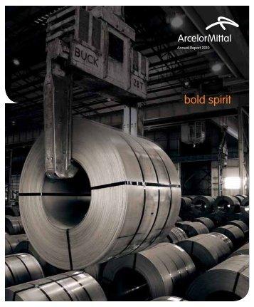 bold spirit - ArcelorMittal South Africa