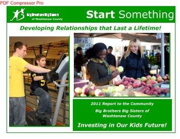 Annual Report - Big Brothers Big Sisters of Washtenaw County