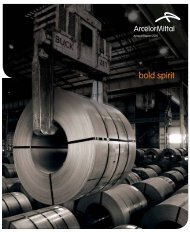 2010 Annual Report - ArcelorMittal South Africa