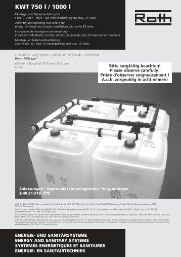 KWT -DE-GB-FR-NL.qxd - Roth Werke