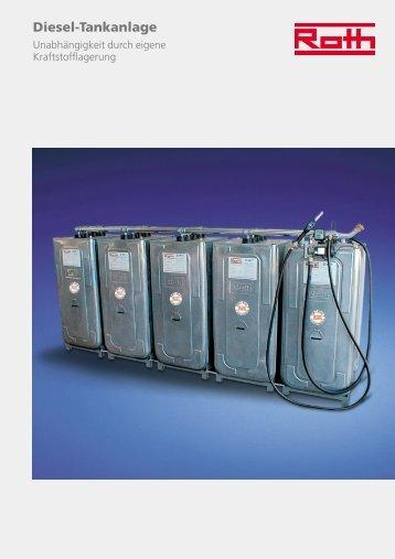 Prospekt Dieseltankanlage - Roth Werke