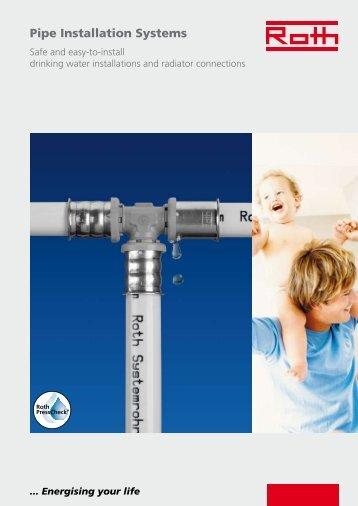 Pipe Installation Systems - Roth Werke