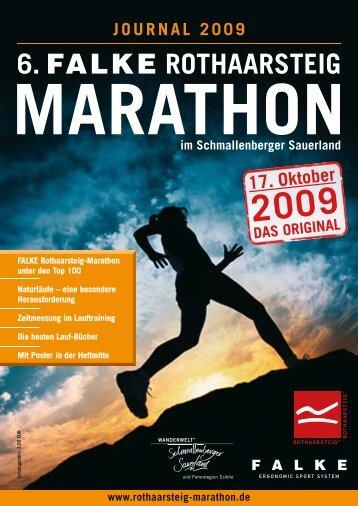 6. FALKE ROTHAARSTEIG - Rothaarsteig Marathon