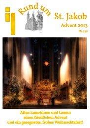 Gemeindebrief Advent 2013 - Rothenburg ob der Tauber