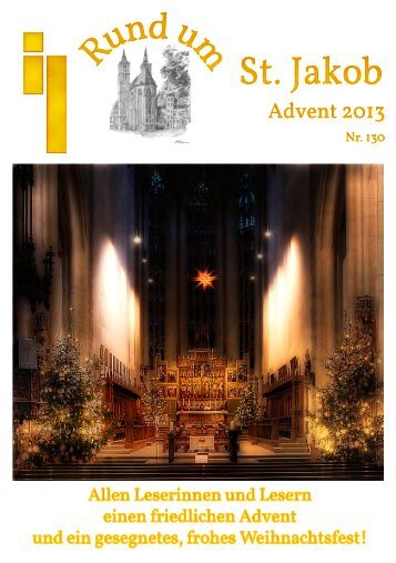 Gemeindebrief Advent 2013 - Rothenburg ob der Tauber