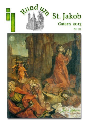 Gemeindebrief Ostern 2013 - Rothenburg ob der Tauber