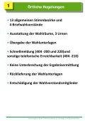 Schulung Landtagswahl und Bezirkswahl - Rothenburg ob der Tauber - Seite 2