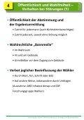 Schulung Landtagswahl und Bezirkswahl - Rothenburg ob der Tauber - Seite 5