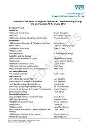 13 NoE SCG Mins 16 Feb 2012.pdf - NHS Rotherham