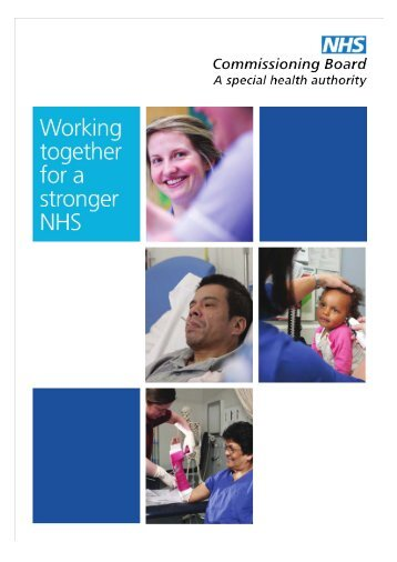 Commissioning Outcomes Framework - NHS England
