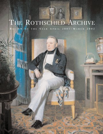 Review of the Year April 2001 – March 2002 - The Rothschild Archive.