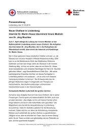 Dr. Martin Hessz folgt auf Dr. Jörg Wuchter