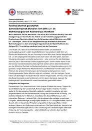 Schwesternschaft München vom BRK e.V. übernimmt weitere 20 ...