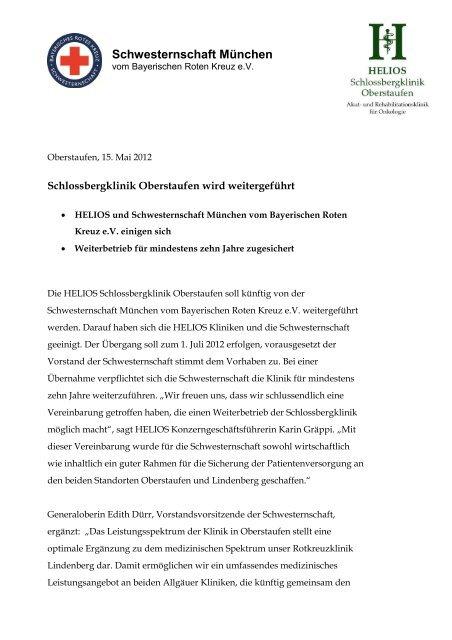 Helios Schlossbergklinik Oberstaufen Soll Kã¼nftig Von Der